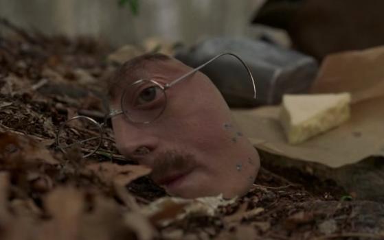 Richard Harrow's mask